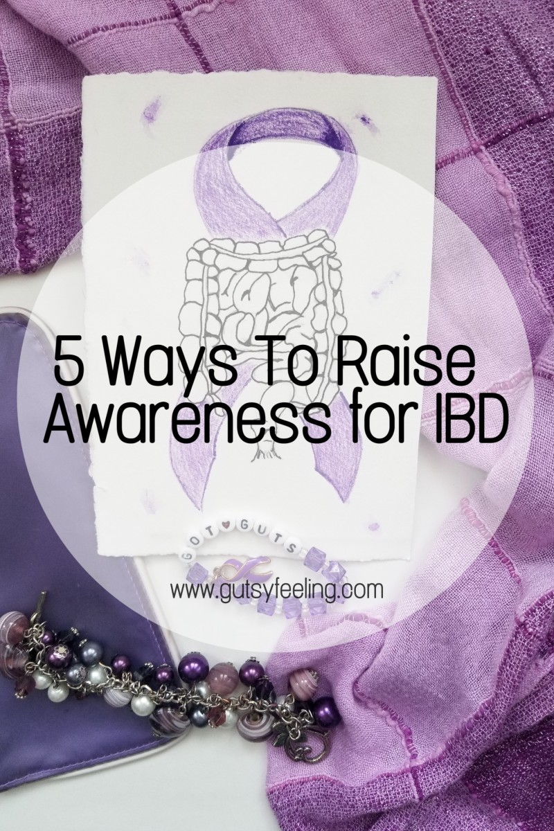 5 WAYS TO RAISE AWARENESS FOR WORLD IBD DAY