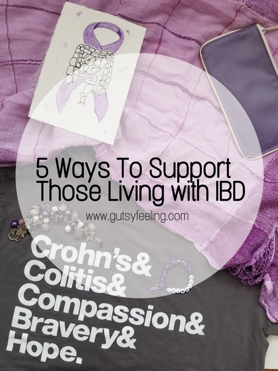 5 WAYS TO SUPPORT THOSE LIVING WITH IBD